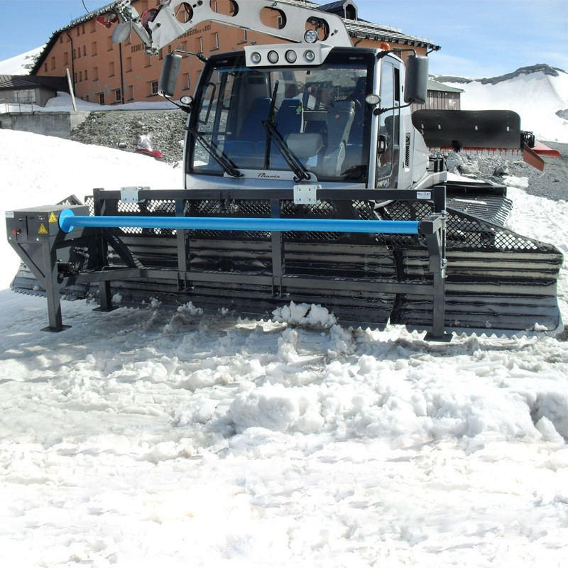 Ski net rewinder
